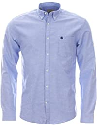 SELECTED HOMME Collect shirt ls rNOOS H - Chemise casual - coupe droite - Col boutonné - Manches longues - Homme