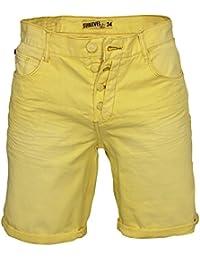 Herren Shorts Jeans Bermuda Slim Fit