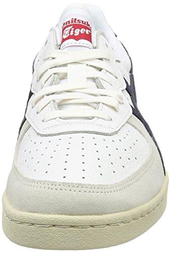 Asics Gsm Unisex-Erwachsene Sneaker White (White/Navy 0150)