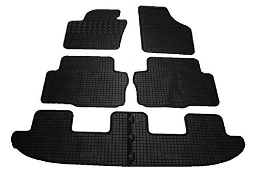 Preisvergleich Produktbild SEAT Alhambra - 7 Plätze - ab 2010 - Gummifußmatten, passgenau.