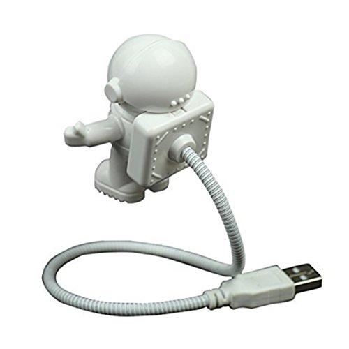 Schöne Astronaut Spaceman USB Einstellbare Nachtlicht für Computer PC Lampe LED