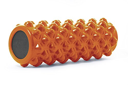 ProSource Bullet Sports Medicine Foam Roller 14'x 5', Extra Firm for Deep...