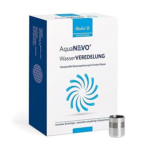 AquaNEVO Wasserwirbler Basic - Der innovative und preisgünstige Wirbler für Wasserhähne mit M22-Außengewinde