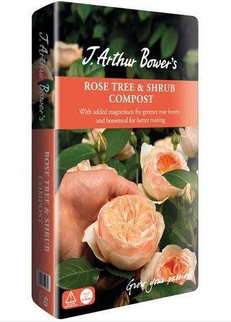 J. Arthur Bowers Rose, Tree & Shrub Compost, 50 litres