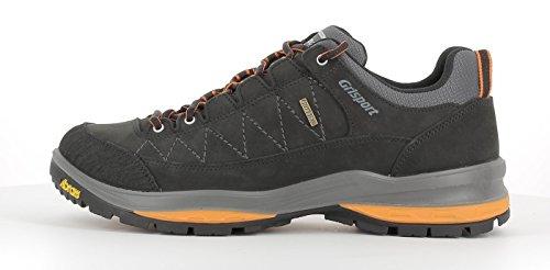 Grisport Unisex Schuhe Herren und Damen Terrain low Gritex Trekking- und Wander- Halbschuh aus hochwertigem Wildleder, Membrankonstruktion, Vibram-Sohle V64