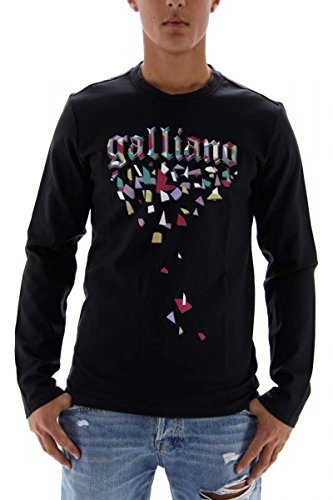 john-galliano-sweat-shirt-pour-homme-anthracite-taille-m