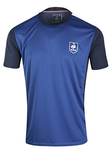 Maillot FFF - Collection officielle Equipe de France de Football - Taille adulte homme XXL