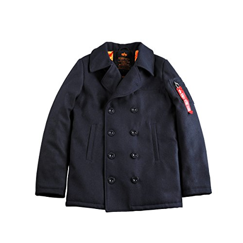 ALPHA INDUSTRIES Peacoat VF Jacket | Navy Large 40