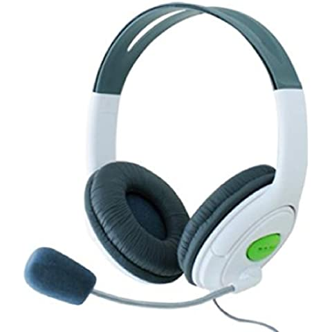 CY-Buity Earphone Live Headset Headphone+Microphone for Microsoft XBOX360 XBOX 360 Slim [Importación