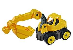 BIG Power Worker Mini Bagger vehículo de Juguete - Vehículos de Juguete (Amarillo, De plástico, 2 año(s), Niño, 100 mm, 240 mm)