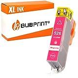 Bubprint Druckerpatrone kompatibel für Canon CLI-526M 526M CLI-526 für Pixma IP4850 IP4950 IX6550 MG5150 MG5250 MG5350 MG6150 MG6250 MG8150 Magenta