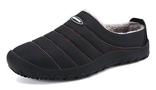DAFENP Zapatillas Casa Hombre/Mujer Zapatillas Fluff