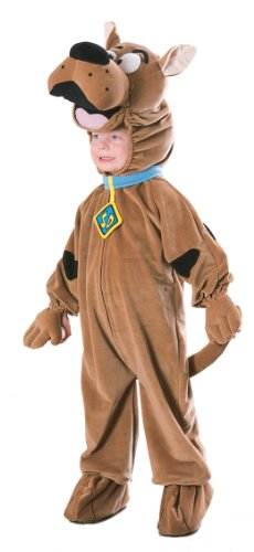 Scooby Doo Childrens Deluxe Costume Fancy Dress Child - Deluxe Scooby Doo Kostüm
