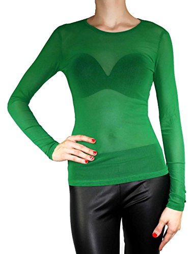 Muse Damen Vintage Tunika / Form Shirt Größe S/M 36 / 38 Farbe Grass-Grün (Muse Du Kostüm)