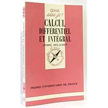 Calcul différentiel et intégral