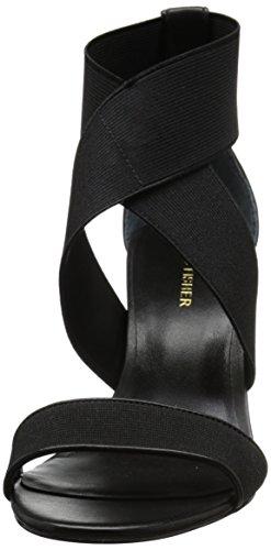 Marc Fisher Brooke Damen Stoff Sandale Black
