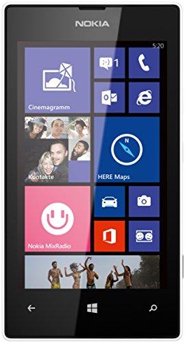 Image of Nokia Lumia 520 Smartphone (10,1 cm (4,0 Zoll) WVGA ClearBlack LCD Touchscreen, 5,0 Megapixel Auto Fokus Kamera, 1,0 GHz Dual-Core-Prozessor, Windows Phone 8) weiß