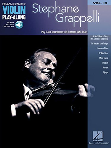 Violin Play-Along Volume 15: Stephane Grappelli (Book/Online Audio) (Play Along Book & CD)