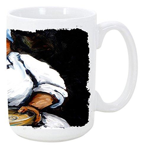 heißem Wasser Cornbread Kaffee Tasse 15Oz mw1087cm15 (New Orleans Kaffee-tasse)