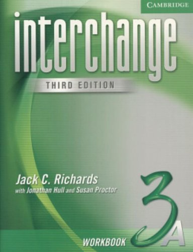 Interchange Workbook 3A by Jack C. Richards (2005-01-10)