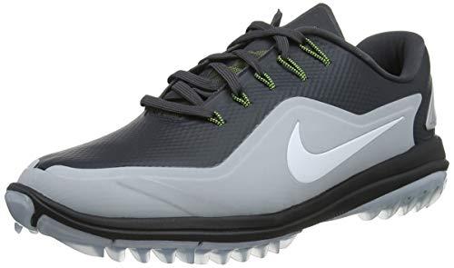 Nike Herren Lunar Control Vapor 2 Golfschuhe, Mehrfarbig (Anthracite/White WOL 003), 43 EU