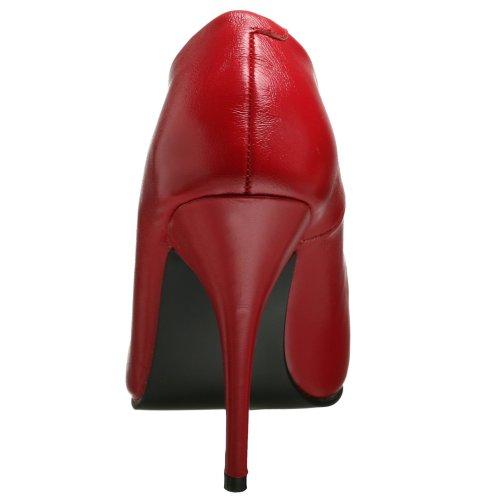 Pleaser Damen Seduce-420 Pumps Rot