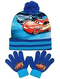 Garçons officiels Disney Pixar Cars Gants et Bonnet Set Taille ... d1ba27e431d