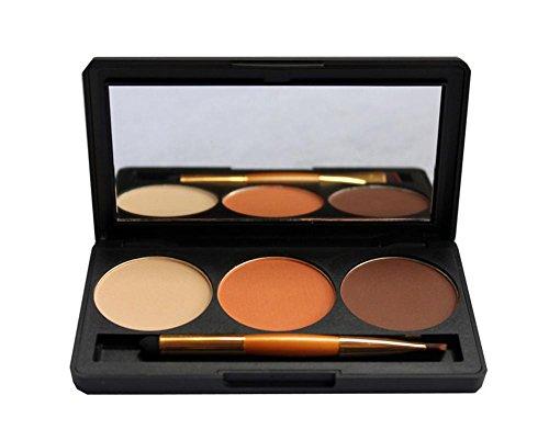 3 colori shimmer ombretto trucco professionale colorato alto-lustro prodotti ,