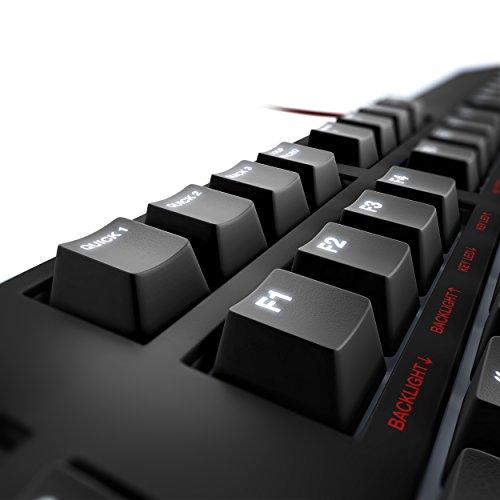 Lioncast LK30 mechanische Gaming Tastatur – Cherry MX Blue (weiße Beleuchtung, USB, QWERTZ, Makro Tasten) - 6