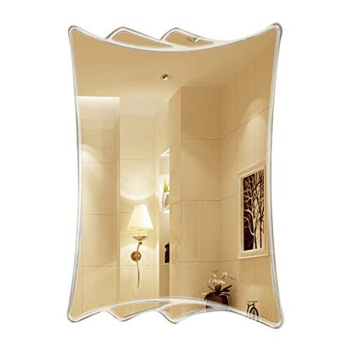 Meng Wei Shop Spiegel Mode kreative Spiegel Wandbehang Badezimmerspiegel Badezimmer Kosmetikspiegel Schlafzimmer Spiegel