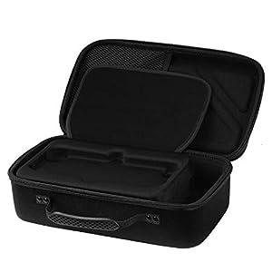 MoKo Nintendo Switch Tasche – Portable Tragetasche Reisetasche Schutzbox Schutzhülle Hülle Schutztasche mit Handgriff und Reißverschluss für Nintendo Switch 2017 und Zubehör