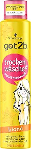 Got2b Trockenshampoo blond, 3er Pack (3 x 200 ml)