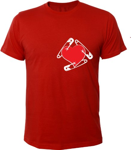 Mister Merchandise Cooles Fun T-Shirt Safe Heart Rot
