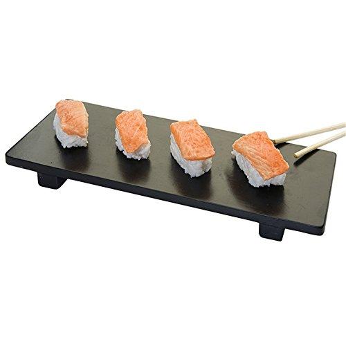Garcia de Pou Unterlage Für Sushi 50X23X2,5 cm Schwarz Bambus - 1 Un.