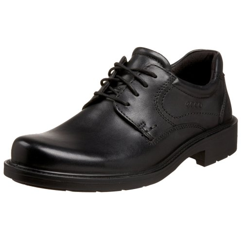 ECCO Men's Boston Plain Toe Oxford,Black,39 EU (US Men's 5-5.5 M)
