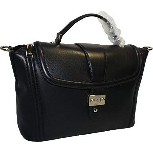 LANCEL sac à main cuir noir Joséphine Sho