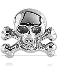 Pirata de acero para microdermal de 1,6 mm, varilla de 1,6 mm, elemento de 6 mm