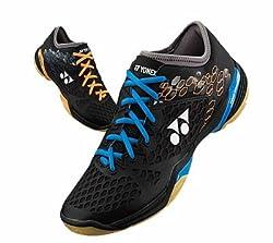 Yonex 03LCWEX Badminton Shoes, 6 UK (Black/Orange)