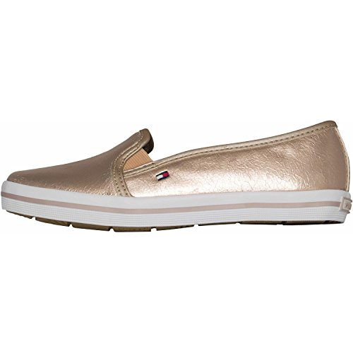 Tommy Hilfiger Sammie 18Z Rose Gold Synthetic Trainers Rose Gold
