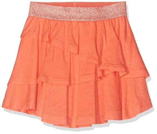 NAME IT Baby-Mädchen NMFVILLA SKIRT H Rock, Orange (Emberglow), (Herstellergröße: 98)
