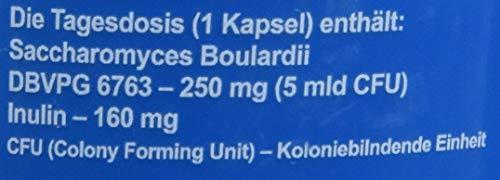 Formeds BICAPS ENTERO Saccharomyces boulardii DBVPG 6763-250 mg (5 MilliardenCFU), 60 Kapseln