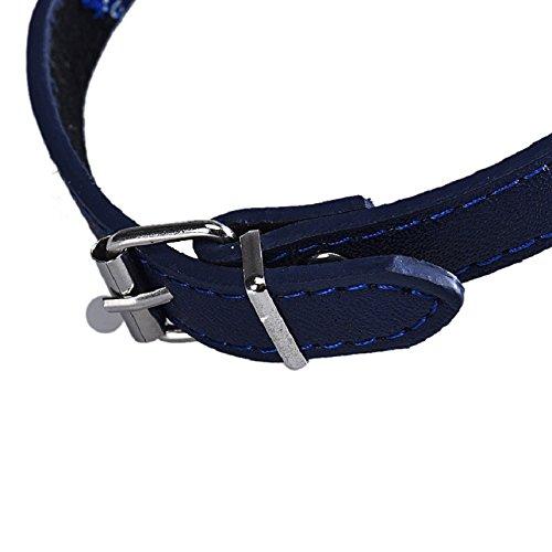 Culater® Retro Krawatte Fliege Katze Hund Haustier Bandana Halstuch Halsbänder Halskette S (blau) - 3