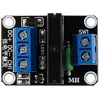 5V 1 Canal OMRON SSR G3MB-202P Módulo de relé de Estado sólido 240 V 2A con Fusible resistivo para Arduino M63 (1PCS)