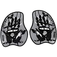 Arena Vortex Evolution Hand Paddle Accessorio da Allenamento, Unisex adulto, Silver/Black, M
