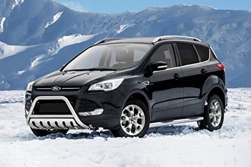 Frontschutzbügel mit Blech für Ford Kuga Baujahr 2012-2017 mit EU-Zulassung für den TÜV und ABE