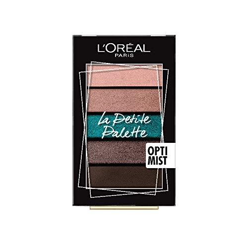 L'Oréal Paris Lidschatten La Petite Palette Optimist 03, 1er Pack (1 x 4 g)