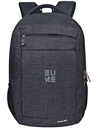 EUME Alexis 28 LTR Black Polyester Laptop Backpack for 15.6 inch Laptop and  Water Resistance Backpack 4d05a17f9a
