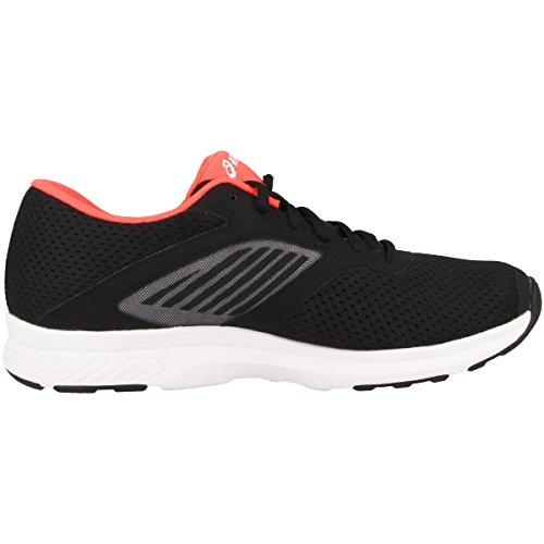 Asics Fuzor, Chaussures de Tennis Femme Noir (Black/snow/diva Pink)