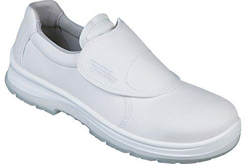 WÜRTH MODYF Sicherheitsschuhe S2 SRC Base Flexitec weiß: Der robuste Arbeitsschuh ist in Größe 43 erhältlich. Der Allrounder Schuh ist Zertifiziert und für den Außenbereich geeignet.