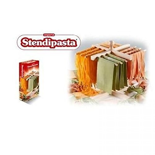 IMPERIA STENDIPASTA IN LEGNO STENDINO PASTA 4 ANGOLATURE IMPERIA MADE IN ITALY